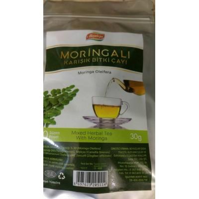 Moringalı Karışık Bitki Çayı (6 Adet)